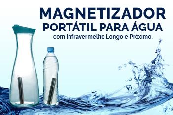 Magnetizador de água com infravermelho