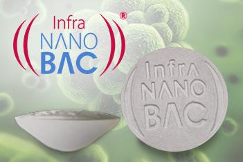 Pastilha IVL infravermelho longo nano bac infrabras