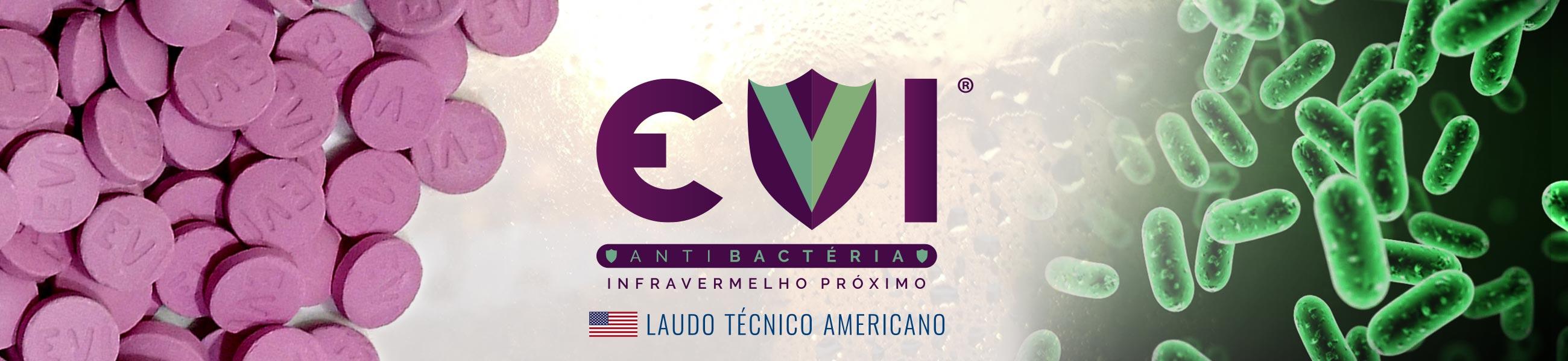 Pastilha Infravermelho Proximo Curto EVI IVL antibacteria